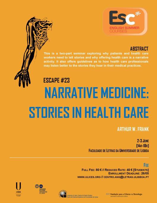 ESC23 Narrative and Medicine
